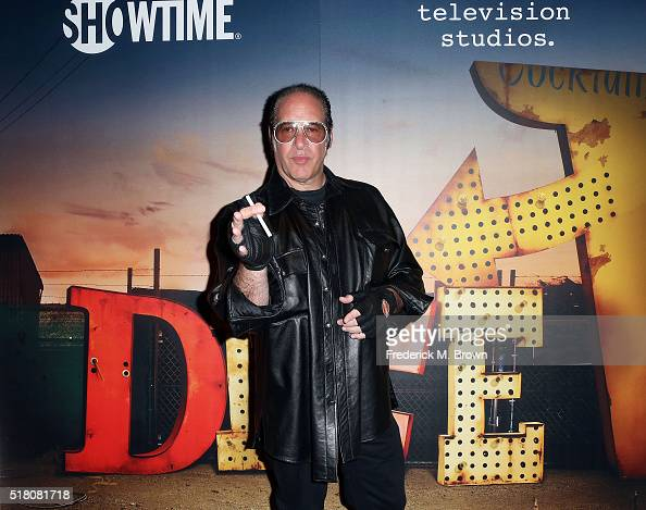 Comedian Andrew Dice Clay attends the Showtime and Fox 21 Television Studio's premiere screening for 'Dice' starring Andrew Dice Clay at The London...