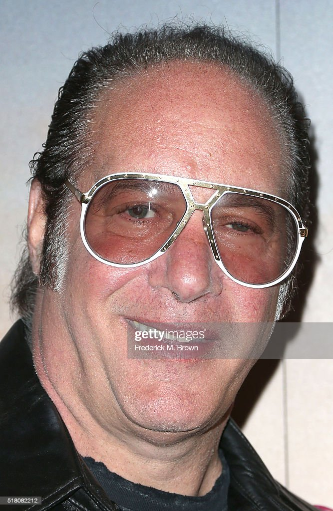 Comedian Andrew Dice Clay attends the Showtime and Fox 21 Television Studio's premiere screening for 'Dice' starring Andrew Dice Clay at The London Hotel on March 29, 2016 in West Hollywood, California.