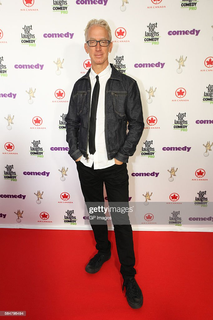 Comedian Andy Dick attends Just For Laughs Awards Red Carpet held at The Hyatt Regency Montreal on July 29, 2016 in Montreal, Canada.