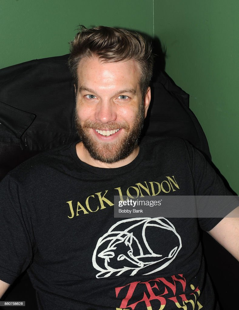 Comedian Anthony Jeselnik backstage at The Stress Factory Comedy Club on October 12, 2017 in New Brunswick, New Jersey.