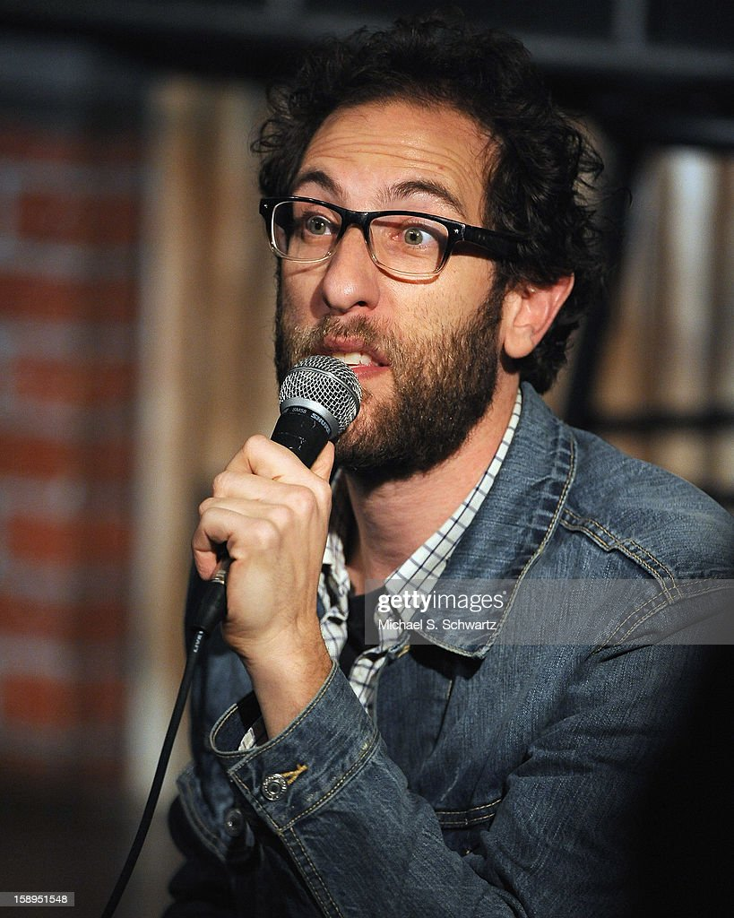 Comedian Ari Shaffir performs during his appearance at The Ice House Comedy Club on January 3, 2013 in Pasadena, California.
