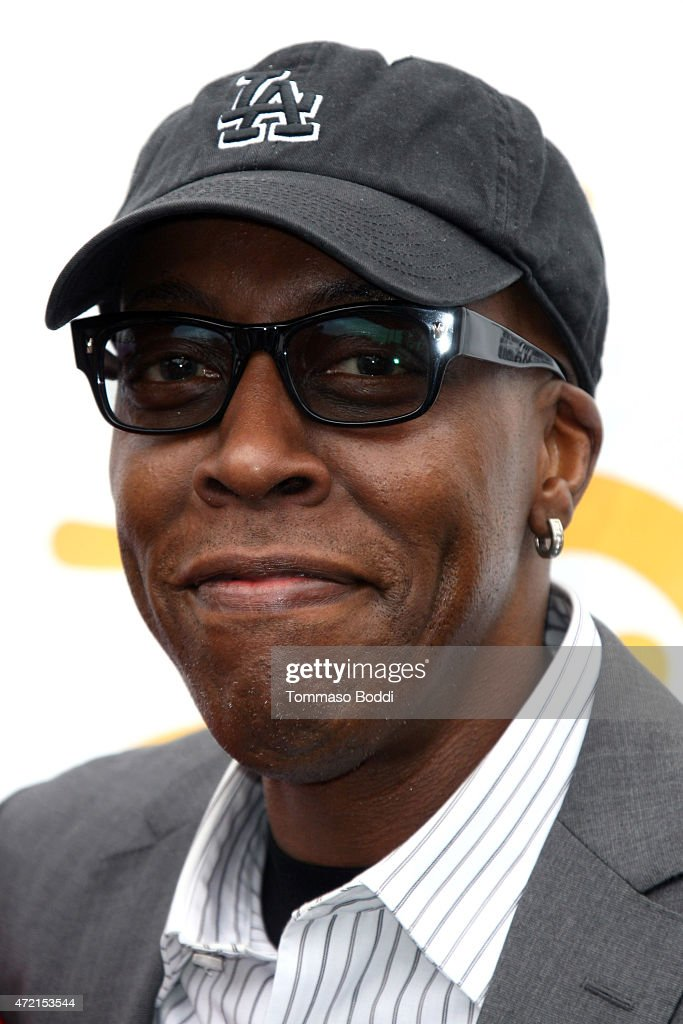 Comedian <a gi-track='captionPersonalityLinkClicked' href=/galleries/search?phrase=Arsenio+Hall&family=editorial&specificpeople=211441 ng-click='$event.stopPropagation()'>Arsenio Hall</a> attends the 8th Annual George Lopez Celebrity Golf Classic at Lakeside Golf Club on May 4, 2015 in Toluca Lake, California.