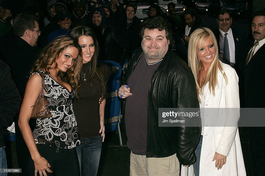 Comedian Artie Lange and The Matt Savage Trio visits 'The Late Show with David Letterman' at Ed Sullivan Theatre on January 29 2008 in New York City