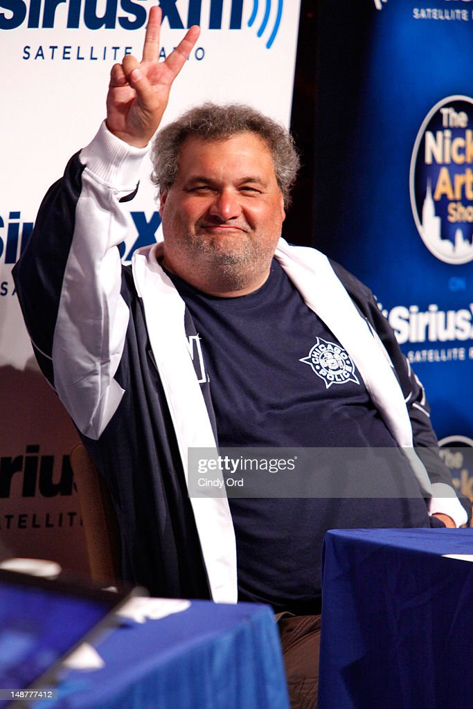 Comedian Artie Lange attends Sirius XM Annual Celebrity Fantasy Football Draft at Hard Rock Cafe New York on July 19 2012 in New York City