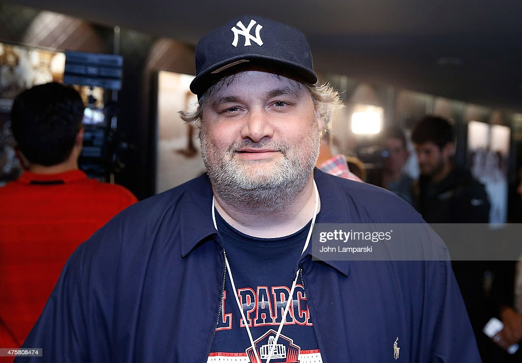 Comedian Artie Lange participates in the True Blue Celebrity Softball Game at Yankee Stadium on June 3 2015 in New York City