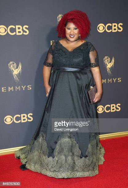 Comedian Ashley Nicole Black attends the 69th Annual Primetime Emmy Awards Arrivals at Microsoft Theater on September 17 2017 in Los Angeles...