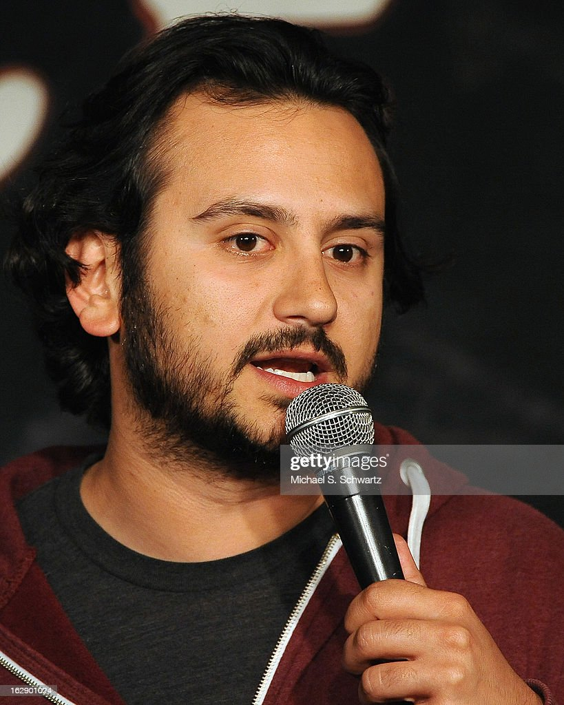 Comedian Assad Motavasseli performs during his appearance at The Ice House Comedy Club on February 28, 2013 in Pasadena, California.