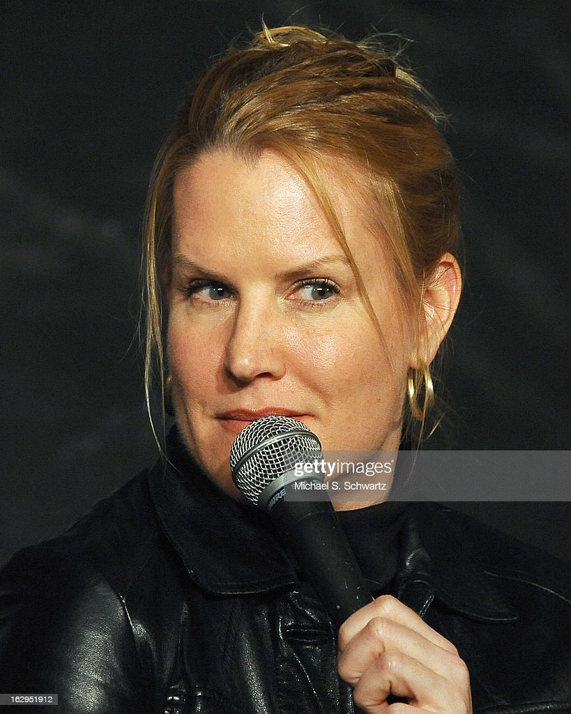 Comedian Bernadette Pauley performs during her appearance at The Ice House Comedy Club on March 1, 2013 in Pasadena, California.