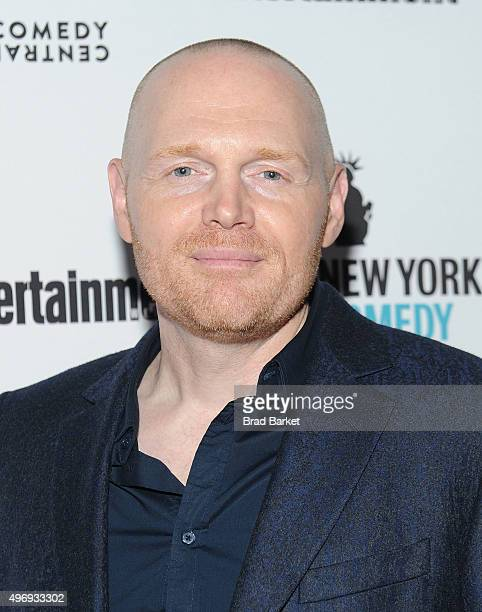 Comedian Bill Burr attends the Comedy Central's New York Comedy Festival Kickoff Party Celebration With Entertainment Weekly on November 12 2015 in...
