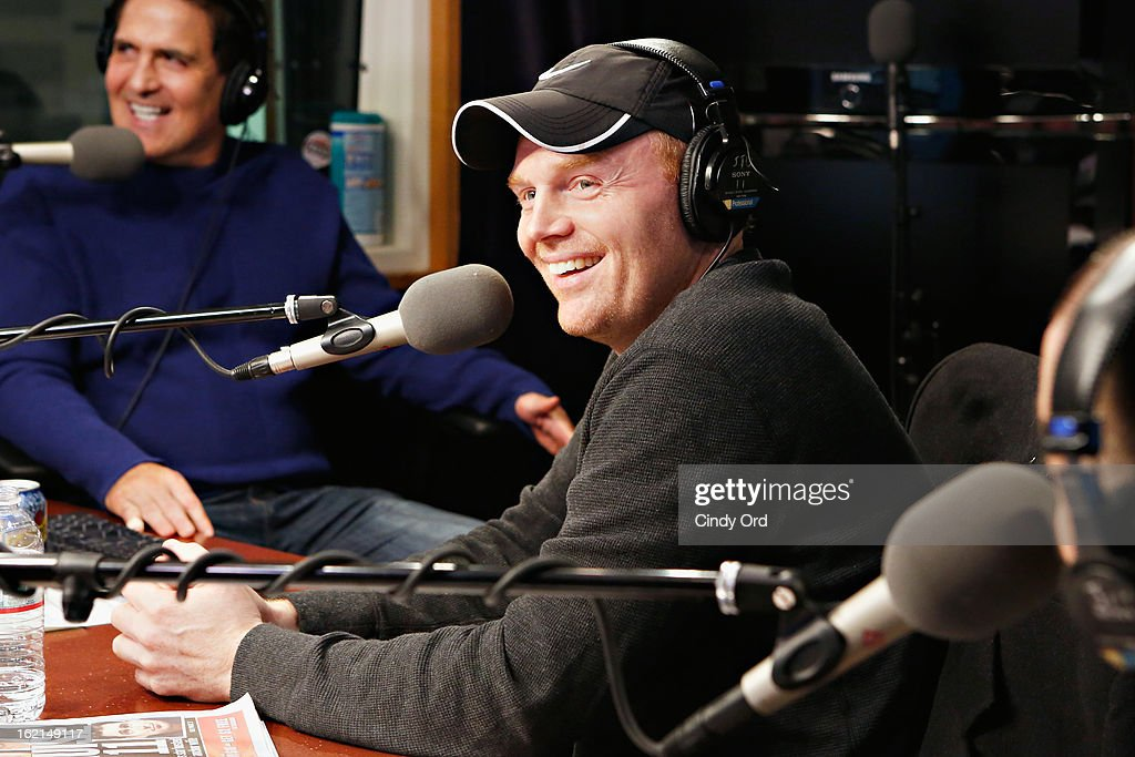 Comedian Bill Burr visits 'The Opie & Anthony Show' at the SiriusXM Studios on February 19, 2013 in New York City.