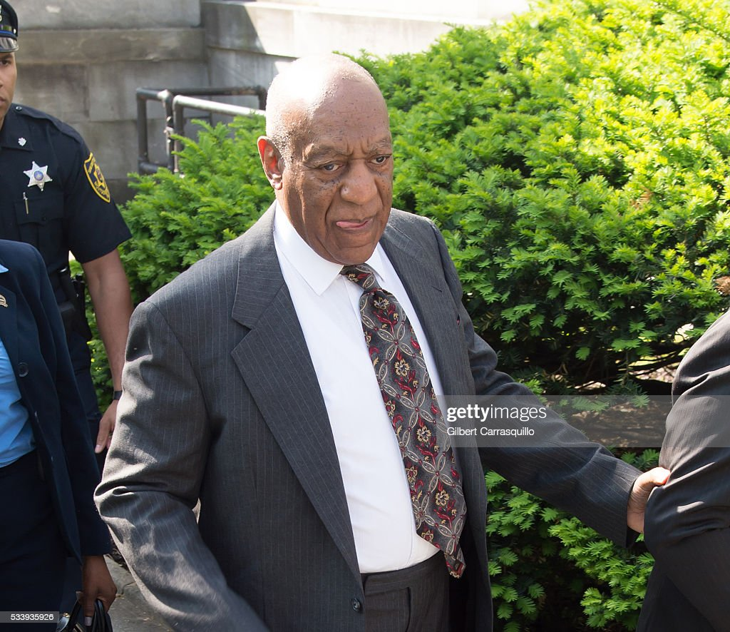 Comedian <a gi-track='captionPersonalityLinkClicked' href=/galleries/search?phrase=Bill+Cosby&family=editorial&specificpeople=206281 ng-click='$event.stopPropagation()'>Bill Cosby</a> arrives at Montgomery County Courthouse on May 24, 2016 in Norristown, Pennsylvania.