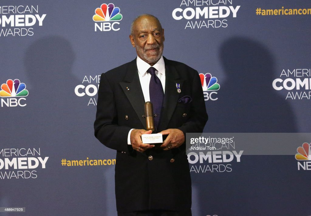 Comedian Bill Cosby attends the 2014 American Comedy Awards at Hammerstein Ballroom on April 26, 2014 in New York City.