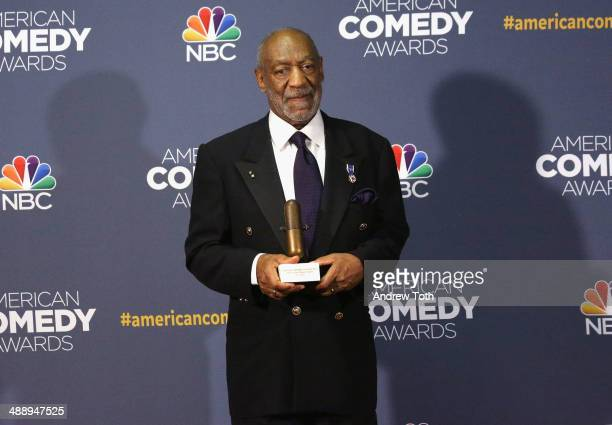Comedian Bill Cosby attends the 2014 American Comedy Awards at Hammerstein Ballroom on April 26 2014 in New York City