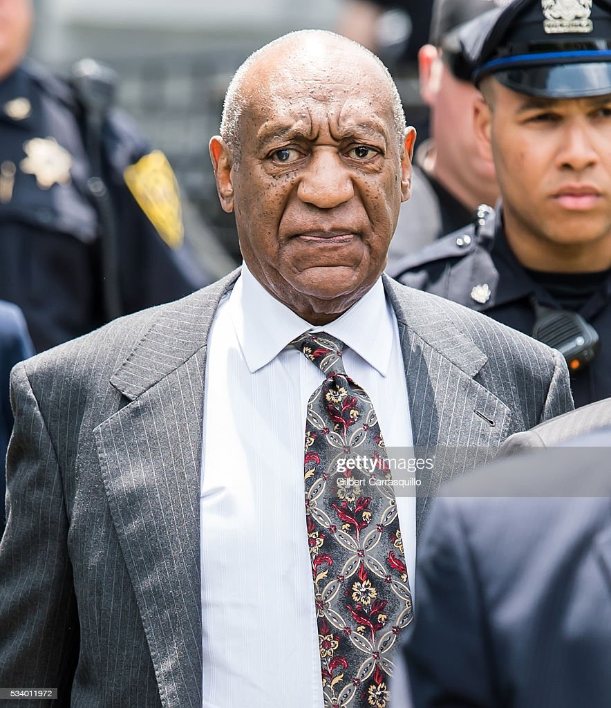 Comedian <a gi-track='captionPersonalityLinkClicked' href=/galleries/search?phrase=Bill+Cosby&family=editorial&specificpeople=206281 ng-click='$event.stopPropagation()'>Bill Cosby</a> is seen leaving the Montgomery County Courthouse on May 24, 2016 in Norristown, Pennsylvania.
