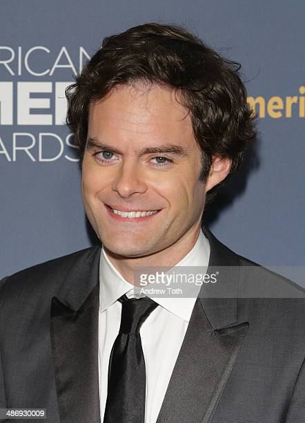 Comedian Bill Hader attends the 2014 American Comedy Awards at Hammerstein Ballroom on April 26 2014 in New York City