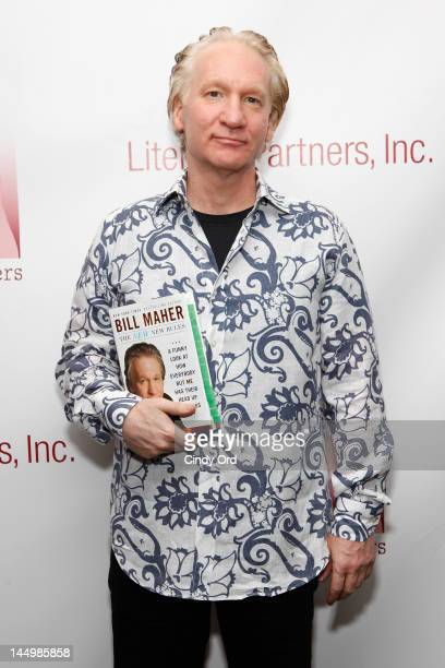 Comedian Bill Maher attends the 28th annual 'Evening of Readings' gala at Frederick P Rose Hall Jazz at Lincoln Center on May 21 2012 in New York City