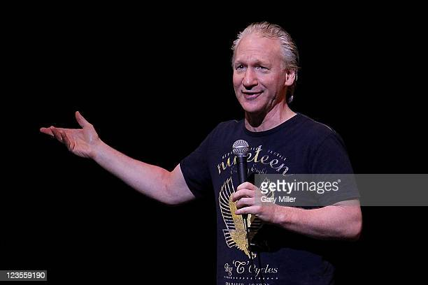 Comedian Bill Maher performs on stage at ACL Live on March 26 2011 in Austin Texas