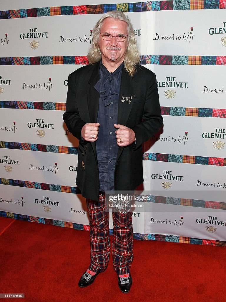 Comedian <a gi-track='captionPersonalityLinkClicked' href=/galleries/search?phrase=Billy+Connolly&family=editorial&specificpeople=208248 ng-click='$event.stopPropagation()'>Billy Connolly</a> attends the 9th Annual Dressed To Kilt Benefit at Hammerstein Ballroom on April 5, 2011 in New York City.