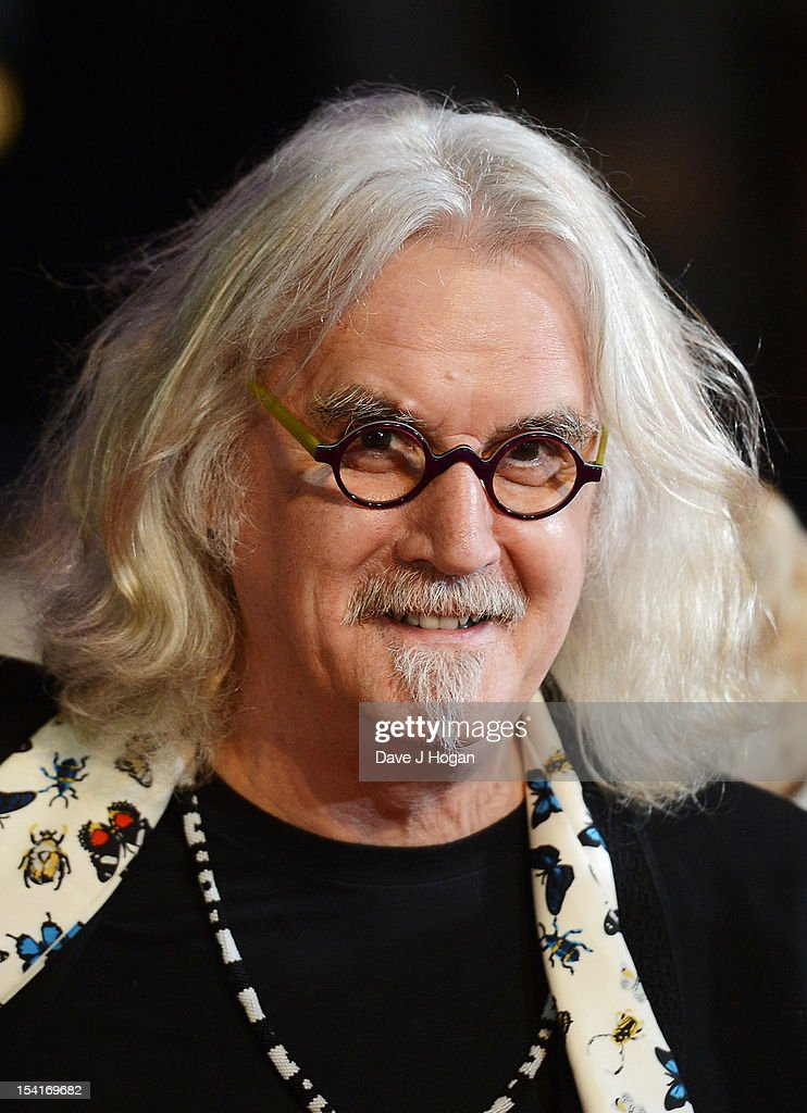 Comedian Billy Connolly attends the premiere of 'Quartet' during the 56th BFI London Film Festival at Odeon Leicester Square on October 15, 2012 in London, England.