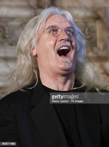 Comedian Billy Connolly during a press conference at the City Chambers Glasgow ahead of a ceremony where he will receive the Freedom of the...