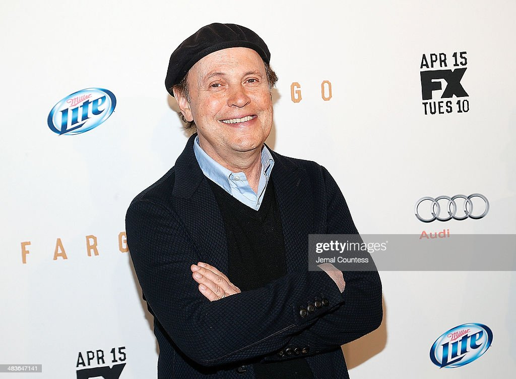 Comedian <a gi-track='captionPersonalityLinkClicked' href=/galleries/search?phrase=Billy+Crystal&family=editorial&specificpeople=202497 ng-click='$event.stopPropagation()'>Billy Crystal</a> attends the FX Networks Upfront screening of 'Fargo' at SVA Theater on April 9, 2014 in New York City.