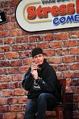 Comedian Bob Marley Performs At Stress Factory Comedy...