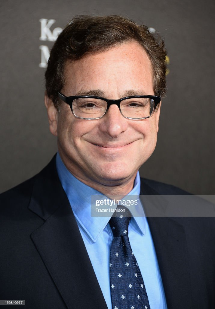 Comedian <a gi-track='captionPersonalityLinkClicked' href=/galleries/search?phrase=Bob+Saget&family=editorial&specificpeople=209388 ng-click='$event.stopPropagation()'>Bob Saget</a> arrives at the 2nd Annual Rebels With A Cause Gala at Paramount Studios on March 20, 2014 in Hollywood, California.