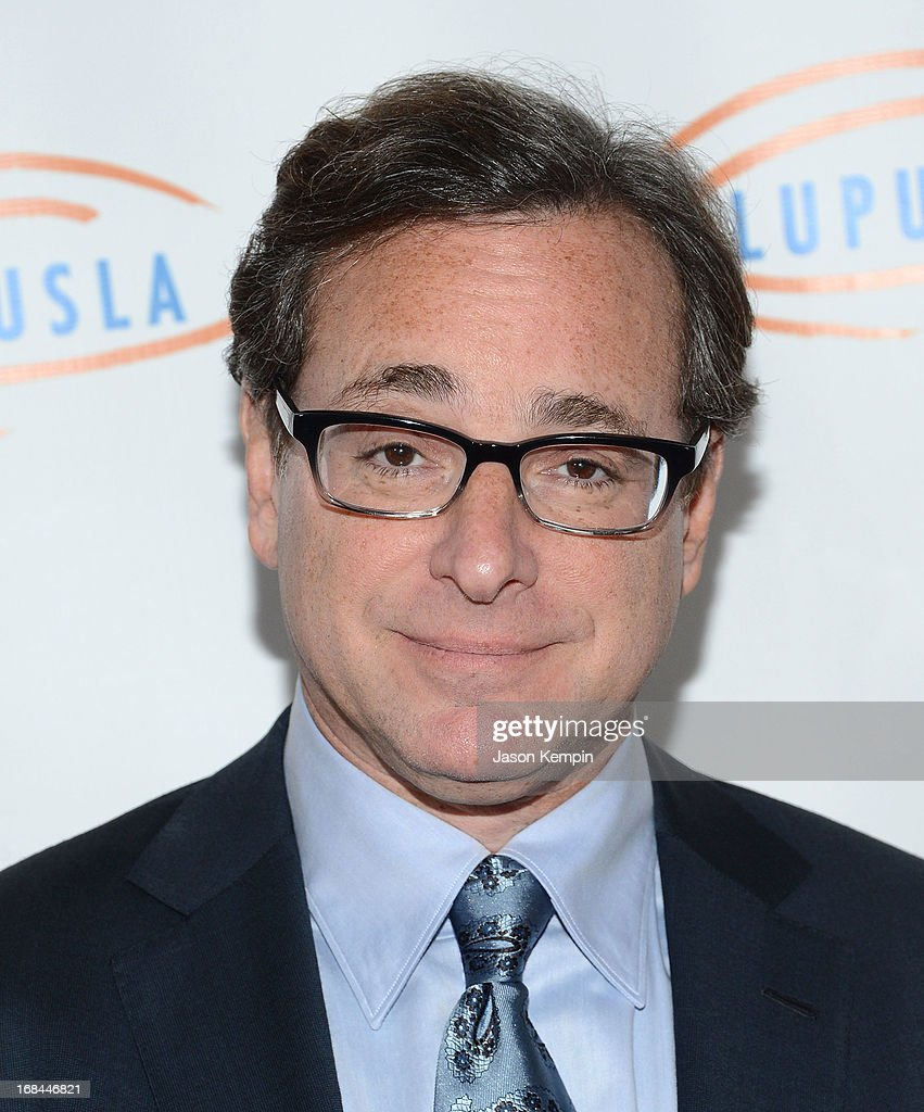 Comedian <a gi-track='captionPersonalityLinkClicked' href=/galleries/search?phrase=Bob+Saget&family=editorial&specificpeople=209388 ng-click='$event.stopPropagation()'>Bob Saget</a> attends the 13th Annual Lupus LA Orange Ball at the Beverly Wilshire Four Seasons Hotel on May 9, 2013 in Beverly Hills, California.
