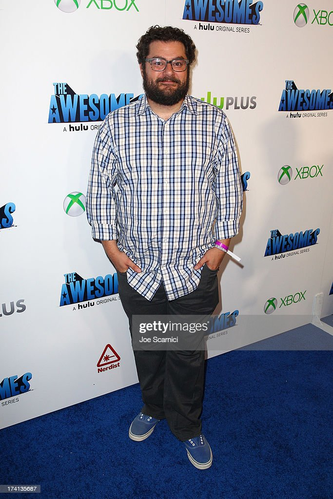 Comedian Bobby Moynihan attends 'The Awesomes' VIP After-Party sponsored by Hulu and Xbox at Andaz on July 20, 2013 in San Diego, California.