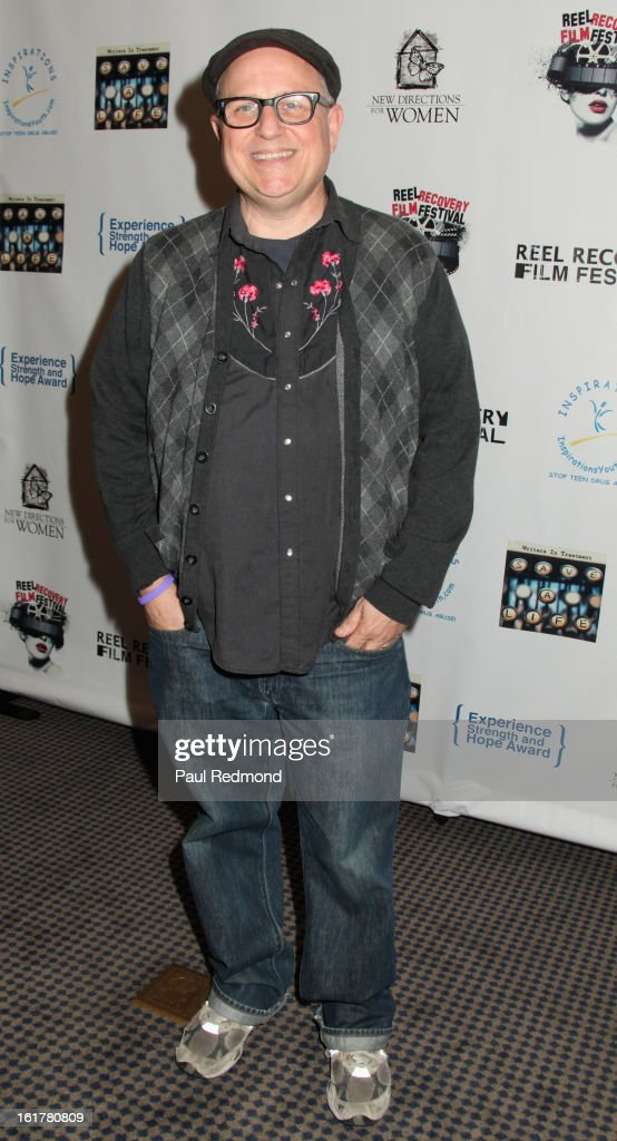 Comedian Bobcat Goldthwait arrives at Writers In Treatment's 4th Annual Experience, Strength And Hope Awards at Skirball Cultural Center on February 15, 2013 in Los Angeles, California.