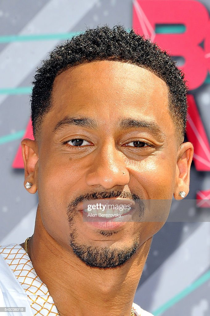 Comedian <a gi-track='captionPersonalityLinkClicked' href=/galleries/search?phrase=Brandon+T.+Jackson+-+Actor&family=editorial&specificpeople=865581 ng-click='$event.stopPropagation()'>Brandon T. Jackson</a> attends the 2016 BET Awards at Microsoft Theater on June 26, 2016 in Los Angeles, California.