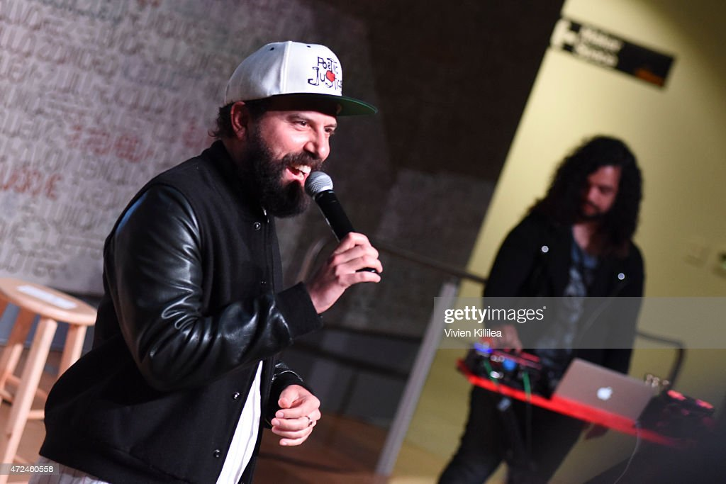 Comedian Brett Gelman of Gemanla performs at Fast Company Hosts First-Ever LA Creativity Counter Conference at 72andSunny on May 7, 2015 in Los Angeles, California.