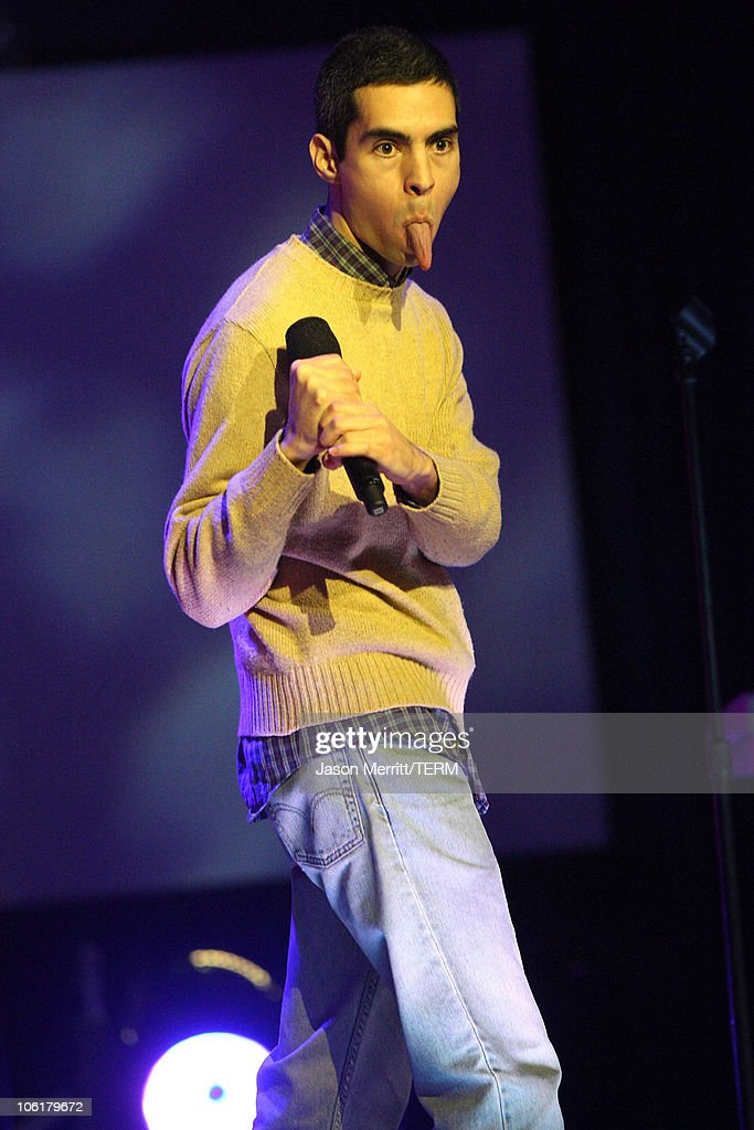 Comedian Brett Weinbach on stage during The <a gi-track='captionPersonalityLinkClicked' href=/galleries/search?phrase=Andy+Kaufman&family=editorial&specificpeople=587929 ng-click='$event.stopPropagation()'>Andy Kaufman</a> Award at HBO & AEG Live's 'The Comedy Festival' 2007 at Caesars Palace on November 16, 2007 in Las Vegas, Nevada.