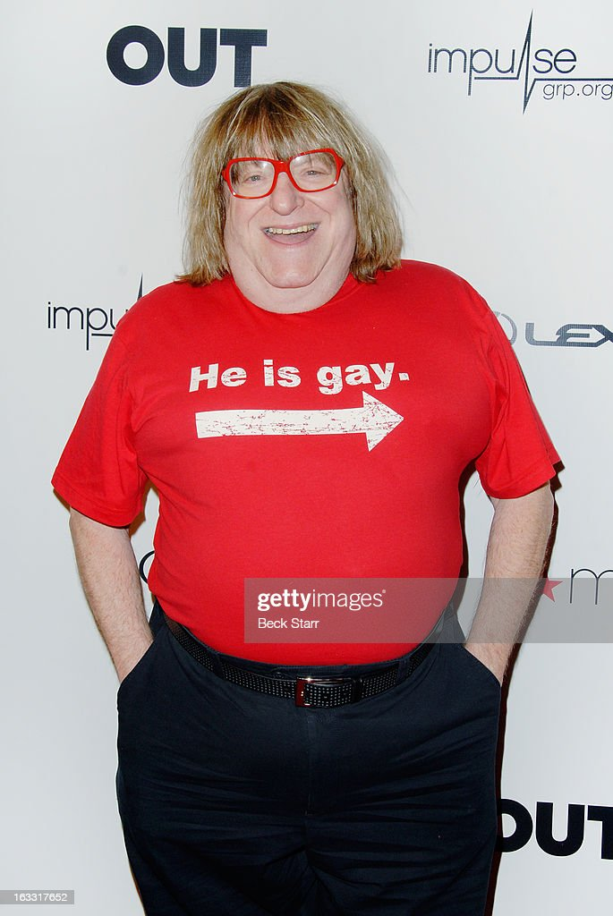 Comedian <a gi-track='captionPersonalityLinkClicked' href=/galleries/search?phrase=Bruce+Vilanch&family=editorial&specificpeople=228694 ng-click='$event.stopPropagation()'>Bruce Vilanch</a> arrives at OUT Magazine's celebration of LA fashion week with launch of Out Fashion presented by Lexus at Pacific Design Center on March 7, 2013 in West Hollywood, California.