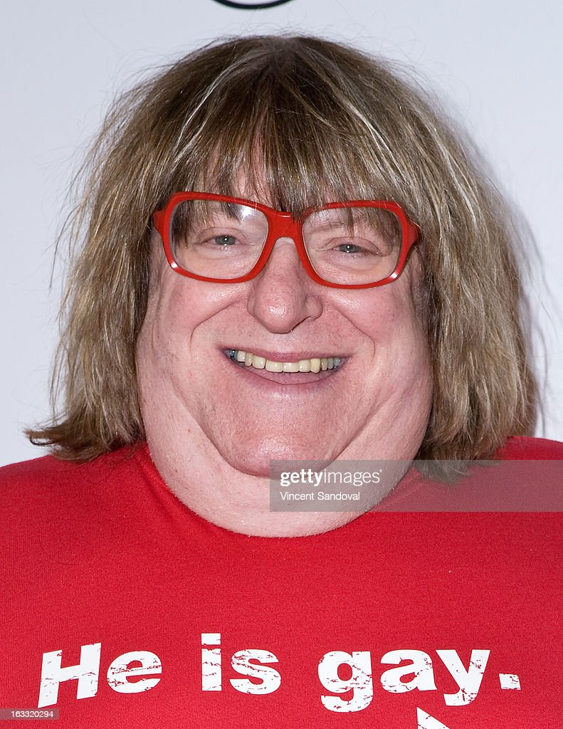 Comedian <a gi-track='captionPersonalityLinkClicked' href=/galleries/search?phrase=Bruce+Vilanch&family=editorial&specificpeople=228694 ng-click='$event.stopPropagation()'>Bruce Vilanch</a> attends OUT magazine's celebration of LA fashion week with OUT fashion benefiting the AIDS Healthcare Foundation at Pacific Design Center on March 7, 2013 in West Hollywood, California.