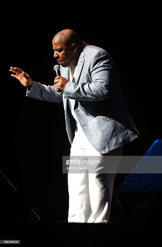Comedian Capone performs at Hot 97's April Fool's Comedy Show at The Theater at Madison Square Garden on April 1, 2013, in New York City.