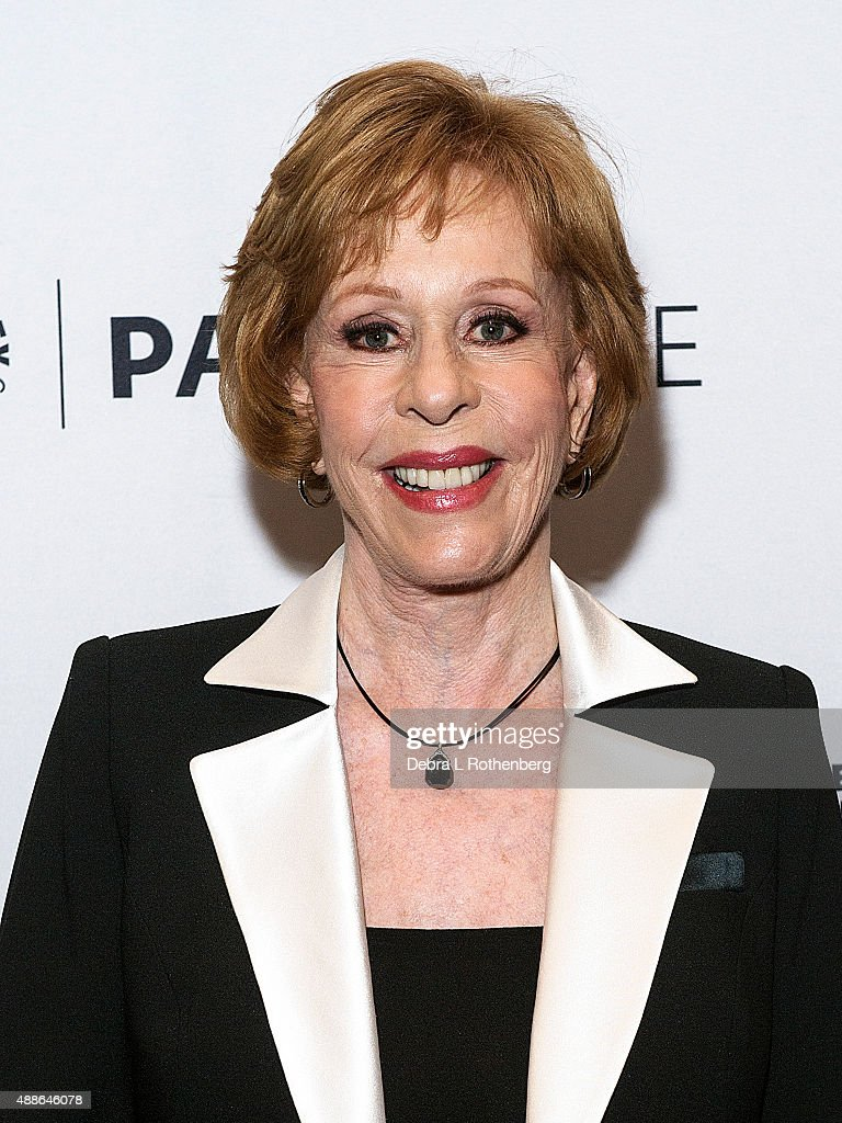 Comedian <a gi-track='captionPersonalityLinkClicked' href=/galleries/search?phrase=Carol+Burnett&family=editorial&specificpeople=206201 ng-click='$event.stopPropagation()'>Carol Burnett</a> attends The Paley Center for Media hosts 'Paleylive: <a gi-track='captionPersonalityLinkClicked' href=/galleries/search?phrase=Carol+Burnett&family=editorial&specificpeople=206201 ng-click='$event.stopPropagation()'>Carol Burnett</a>, Her Lost Episodes' at The Paley Center for Media on September 16, 2015 in New York City.