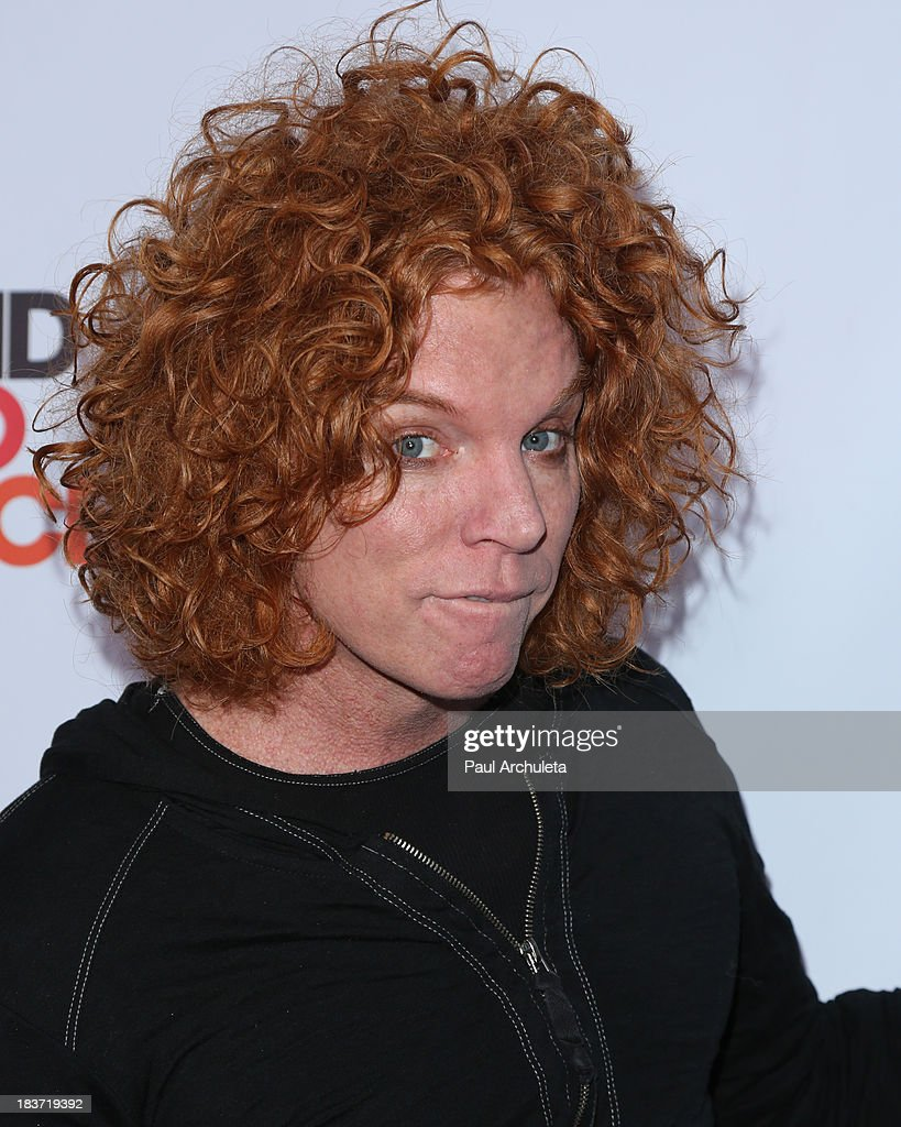 Comedian Carrot Top attends the CBS After Dark with an evening of laughter benefiting Stand Up To Cancer at The Comedy Store on October 8, 2013 in West Hollywood, California.