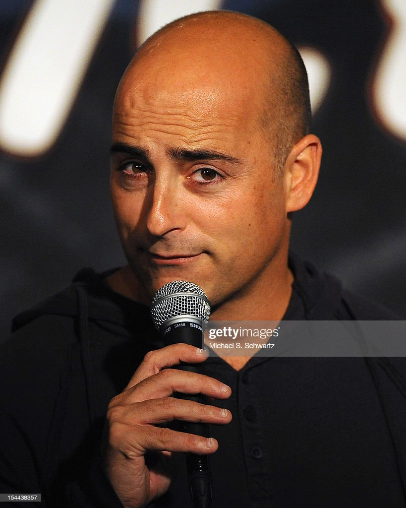 Comedian Cash Levy performs during his appearance at The Ice House Comedy Club on October 19, 2012 in Pasadena, California.