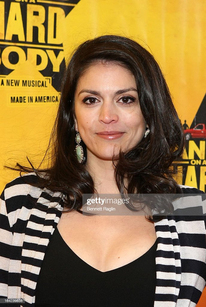 Comedian Cecily Strong attends 'Hands On A Hard Body' Broadway Opening Night at The Brooks Atkinson Theatre on March 21, 2013 in New York City.