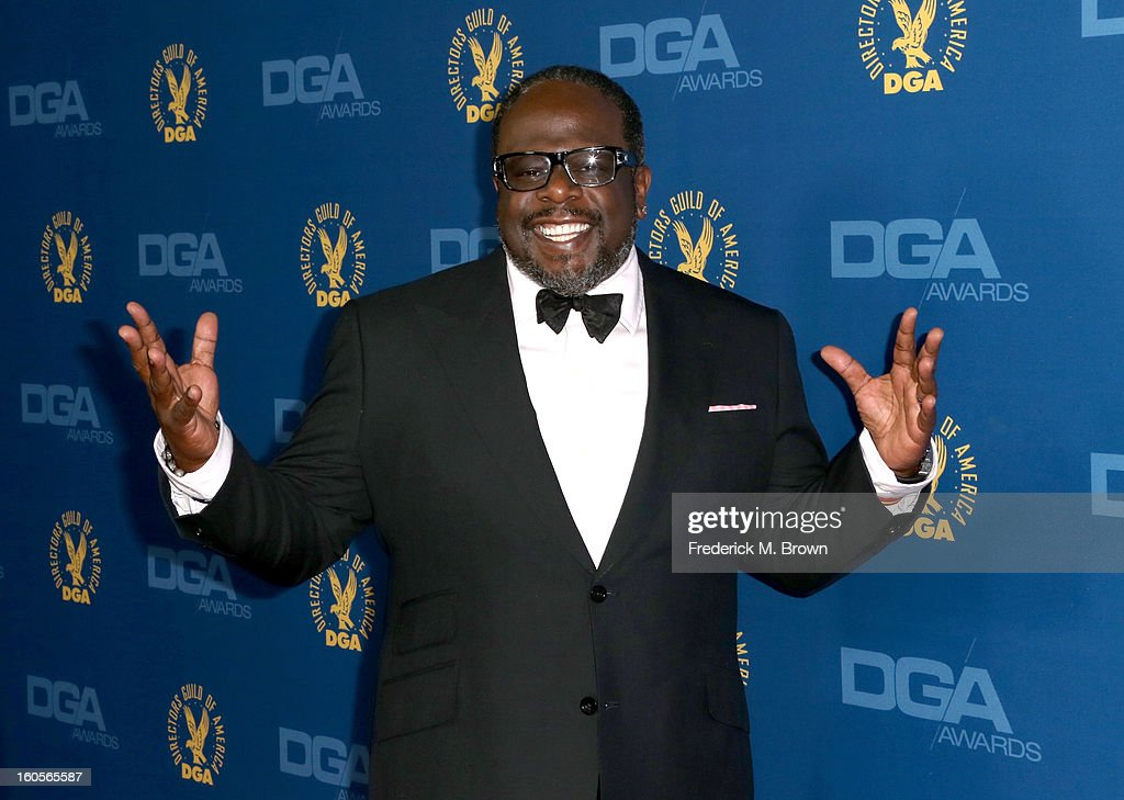 Comedian Cedric the Entertainer attends the 65th Annual Directors Guild Of America Awards at Ray Dolby Ballroom at Hollywood & Highland on February 2, 2013 in Los Angeles, California.