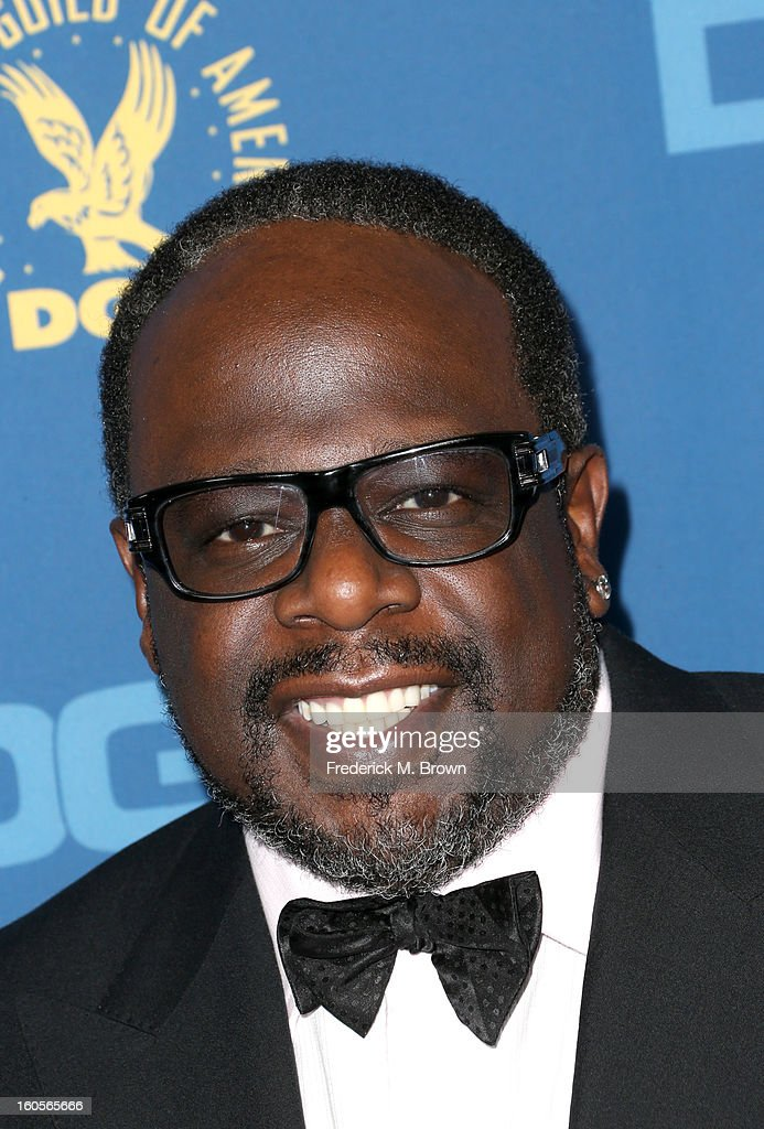Comedian <a gi-track='captionPersonalityLinkClicked' href=/galleries/search?phrase=Cedric+the+Entertainer&family=editorial&specificpeople=210583 ng-click='$event.stopPropagation()'>Cedric the Entertainer</a> attends the 65th Annual Directors Guild Of America Awards at Ray Dolby Ballroom at Hollywood & Highland on February 2, 2013 in Los Angeles, California.