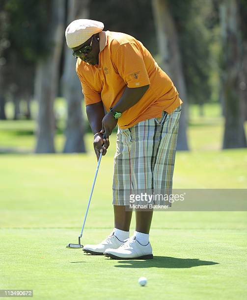 Comedian Cedric the Entertainer attends the Fourth Annual George Lopez Celebrity Golf Classic benefitting the Lopez Foundation at Riviera Country...