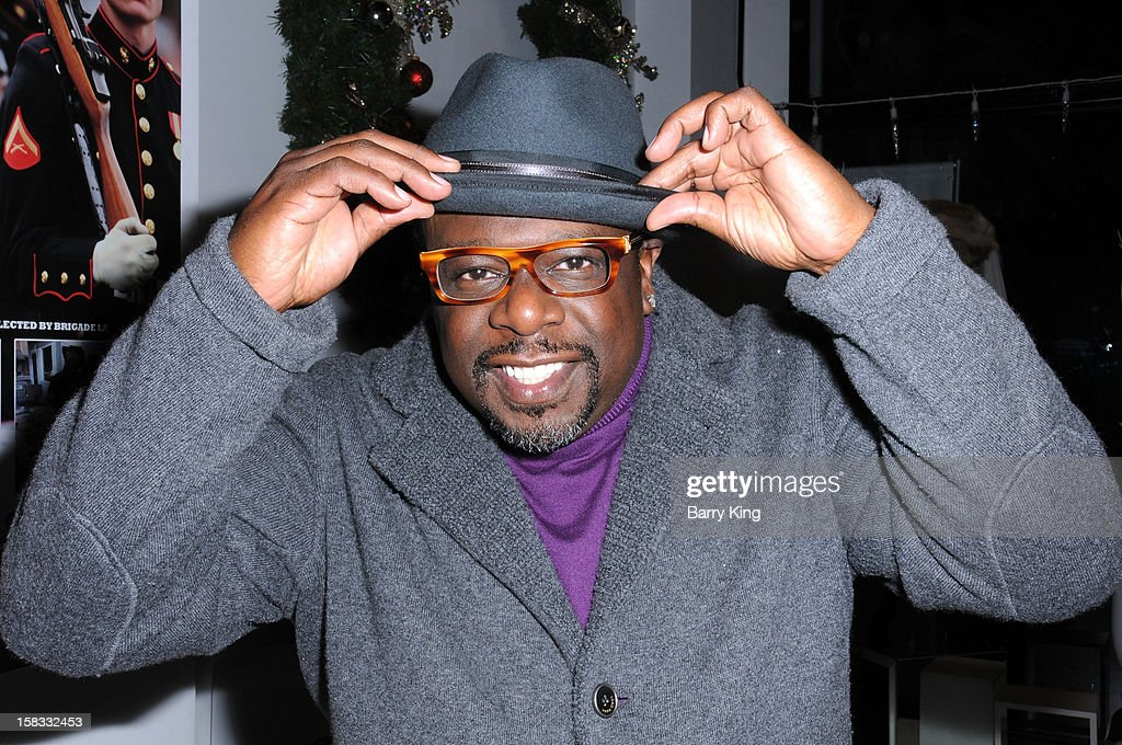 Comedian <a gi-track='captionPersonalityLinkClicked' href=/galleries/search?phrase=Cedric+the+Entertainer&family=editorial&specificpeople=210583 ng-click='$event.stopPropagation()'>Cedric the Entertainer</a> attends the WHO CED In-Store Holiday Launch Party at Brigade LA on December 12, 2012 in Los Angeles, California.