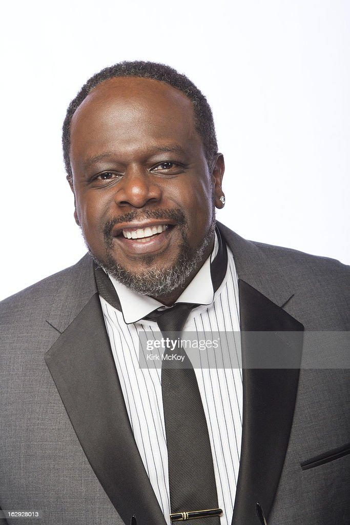 Comedian Cedric the Entertainer is photographed at the NAACP Image Awards for Los Angeles Times on February 1, 2013 in Los Angeles, California. PUBLISHED IMAGE.