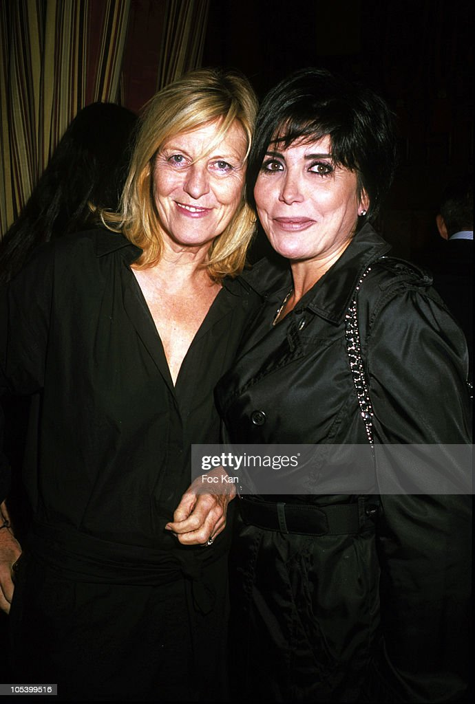 Comedian Chantal Ladesou and singer <a gi-track='captionPersonalityLinkClicked' href=/galleries/search?phrase=Liane+Foly&family=editorial&specificpeople=961880 ng-click='$event.stopPropagation()'>Liane Foly</a> attend the Patrick Goavec Birthday Party at the Berkeley Club on September 14, 2009 in Paris, France.