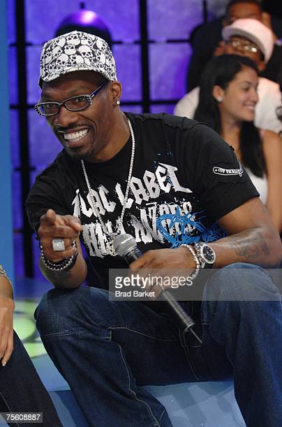 Comedian Charlie Murphy appears at the taping of BET 106 Park on July 23 2007 in New York City