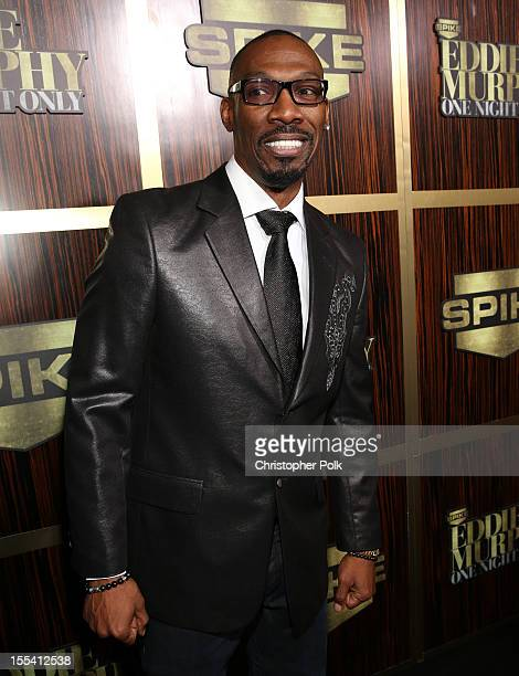 Comedian Charlie Murphy arrives at Spike TV's 'Eddie Murphy One Night Only' at the Saban Theatre on November 3 2012 in Beverly Hills California