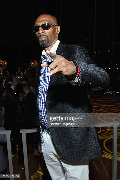 Comedian Charlie Murphy attends BET Networks 2016 Upfront at Rose Hall at Jazz at Lincoln Center on April 20 2016 in New York City