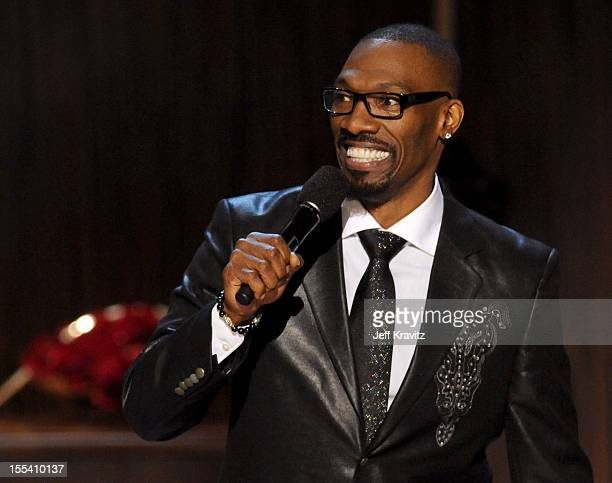 Comedian Charlie Murphy onstage at Spike TV's 'Eddie Murphy One Night Only' at the Saban Theatre on November 3 2012 in Beverly Hills California